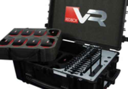 RedboxVR Virtual Reality kit with 15 goggles