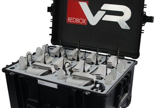 RedboxVR Virtual Reality kit met 15 x Bay Oculus Go VR Headsets