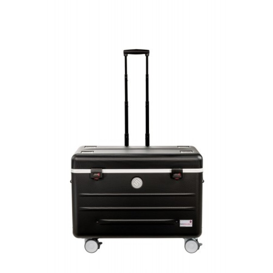 "Paraproject N16 trolley case for 16 tablets or notebooks until 12"" black-8"