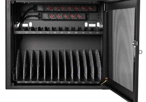 Bravour Bravour BRV12 Oplaadkast voor 12 mobiele apparaten tot 15 inch