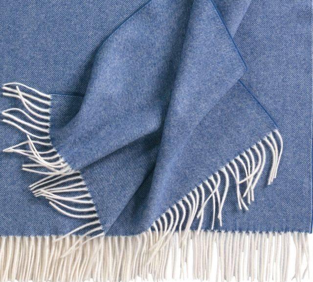 Eagle Produkts Feines Plaid Boston Lammwolle 130x200 cm -24 tolle Farben !