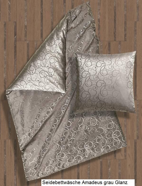 Bettwäsche Seide Damast Cellini Design Textile Träume Textile