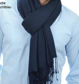 Original Pashmina Schal 70x200 cm - nachtblau