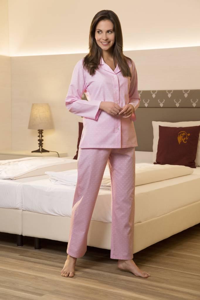 Novila   NOVILA Damen Pyjama Petra 8202 rose 113