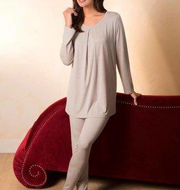 Novila Novila Damen Schlafanzug  Aileen 8702 Jersey