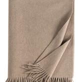 Eagle Produkts Windsor Cashmereplaid 100% Kaschmir Farbe natur
