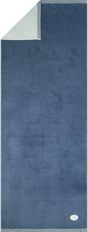 Egeria   Saunatuch Ben blue-rock- 75x200 cm -