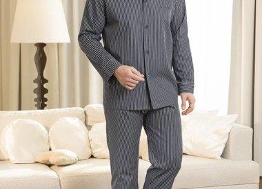 Pyjama Herren lang