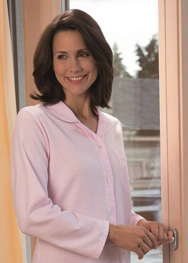 8bb6c8c7db Novila-Hochwertiger Damen Pyjama-Exclusiver Schlafanzug - TEXTILE ...