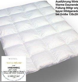 """Daunendecke """"Winter warm"""" - Hausmarke -Für die Übergangszeit"""