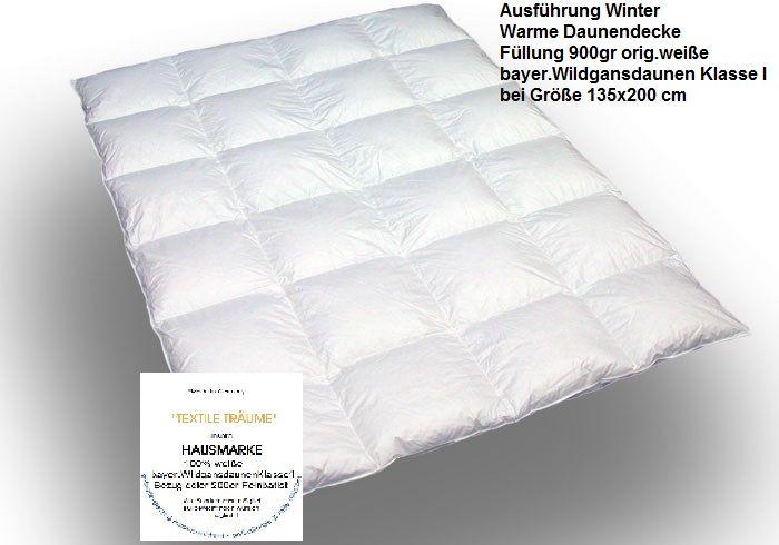 "C.O.  Daunendecke ""Winter warm""  - Hausmarke"