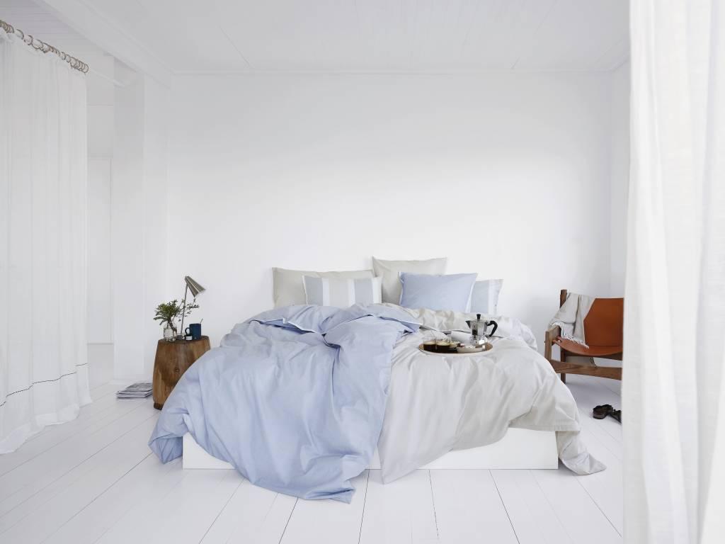 Schlossberg   Schlossberg-Porto  bleu-Fil a Fil Popeline