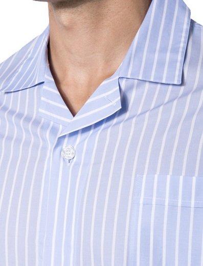 Novila Herren Schlafanzug Novila Marco 8380 Streifen kurz