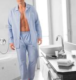 Novila  Herren Schlafanzug Pyjama Patrick 8058 hellblau 5