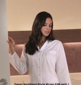 Novila Novila Damen Nachthemd Miriam 8366-1190-1-weiß