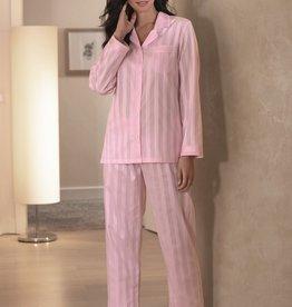 Novila Damen Schlafanzug Celine 1/1 rose 8367 Gr.36-48