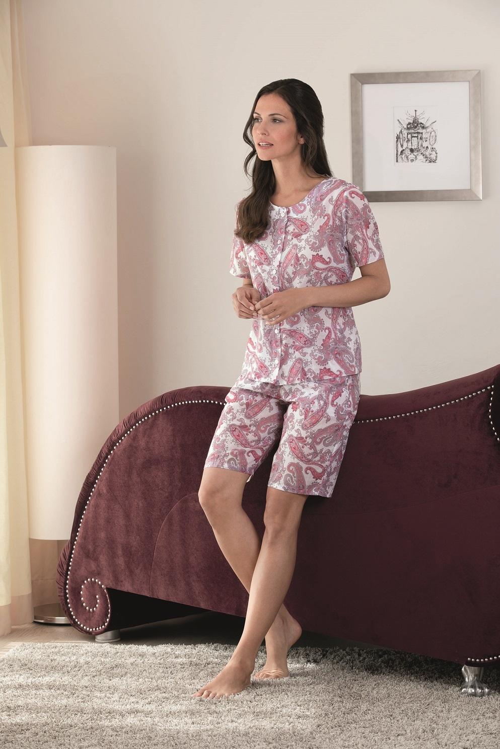 b37ae176cf NOVILA |Damen Pyjama kurz|Damen Schlafanzug kurz|Textile Träume ...