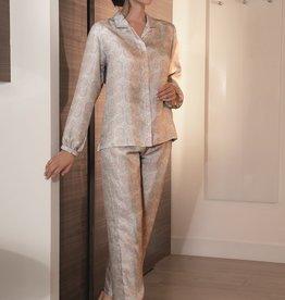 Novila Novila Damen Schlafanzug  Serena 9512 Reine Seide