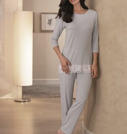 Novila Novila Damen Schlafanzug  Mira 8702 bleu 66