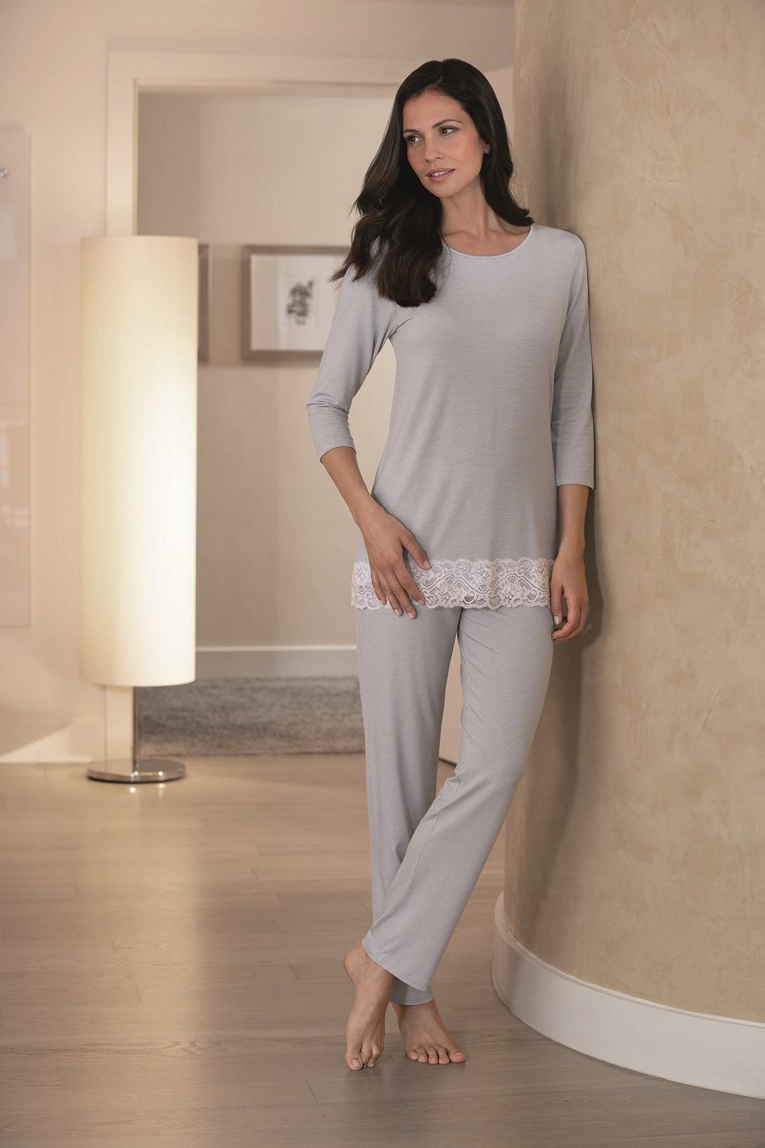 sale retailer d00ce 51329 Novila|Damen Pyjama Jersey|Damen Schlafanzug Jersey|Textile Träume