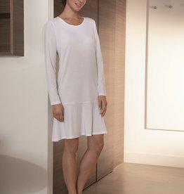 Novila Damen Nachthemd  Mia 8703 weiß