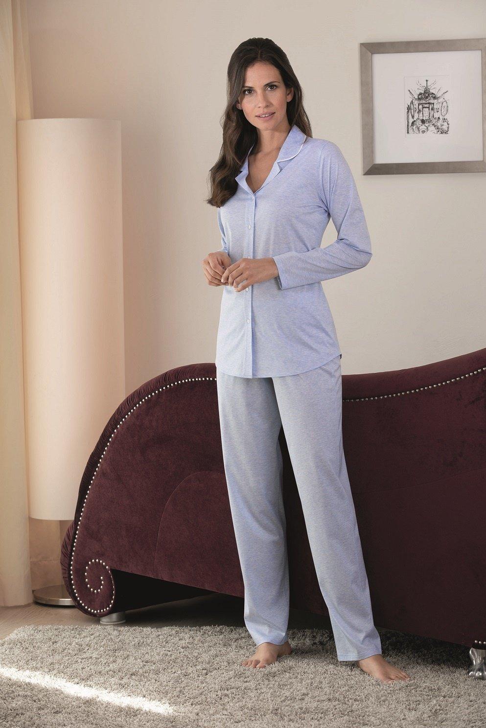 finest selection 37c84 bb359 Novila|Damen Pyjama|Schlafanzug Jersey|Textile Träume|Neue Kollektion