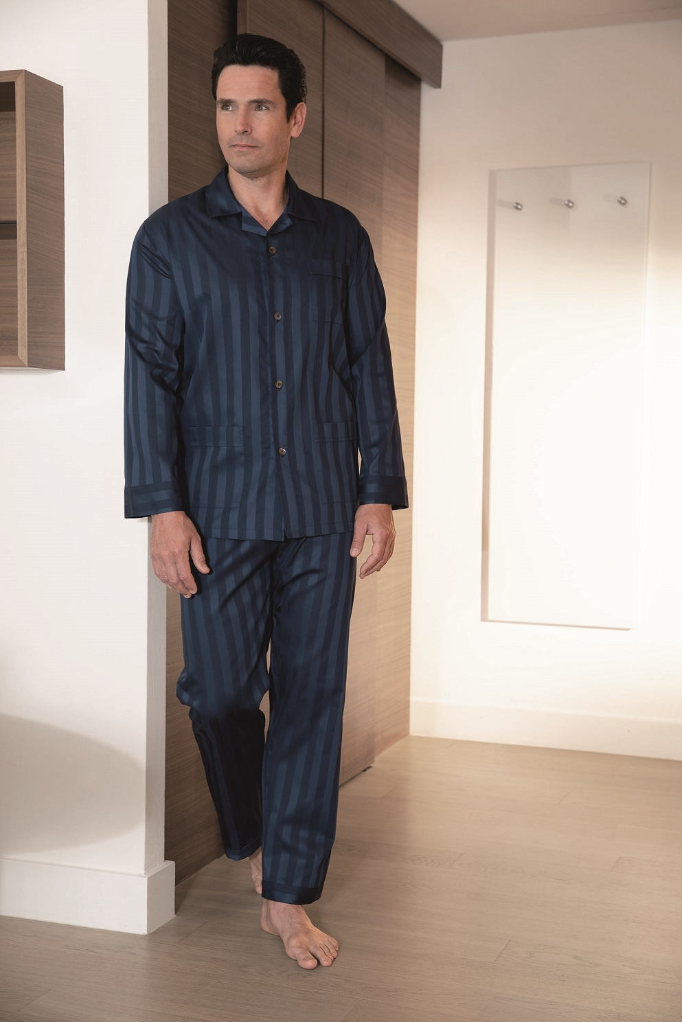 best service 90ddd 51f2b Luxus Herren Pyjama-Novila- Textile Träume