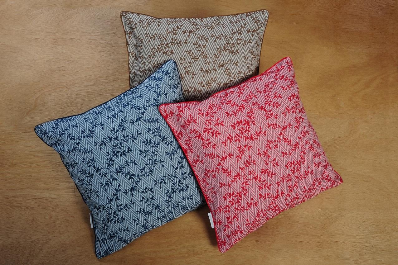 Momm - feine Bettwäsche Kissenbezug Zweige DANA 3 Farben  2 Größen