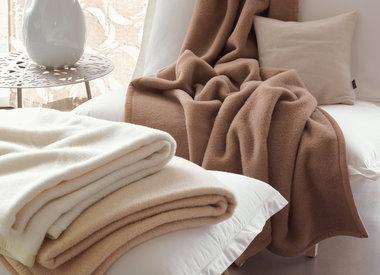 Große Wolldecken-Schlafdecken