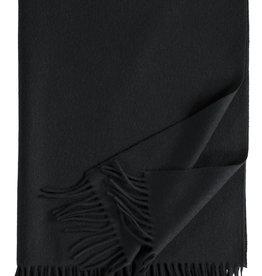 Eagle Produkts Windsor Cashmereplaid 100% Kaschmir Farbe schwarz