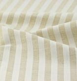 Tragetasche Stoff-Handgefertigte Tasche Halbleinen Lis Streifen