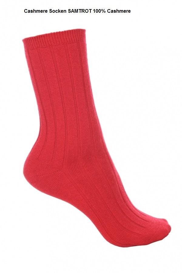 Kaschmir Socken Feinstes Cashmere - 9Farben