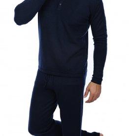 C.O. Cashmere  Herren Pyjama ADA 100% Cashmere - kuschelig warm