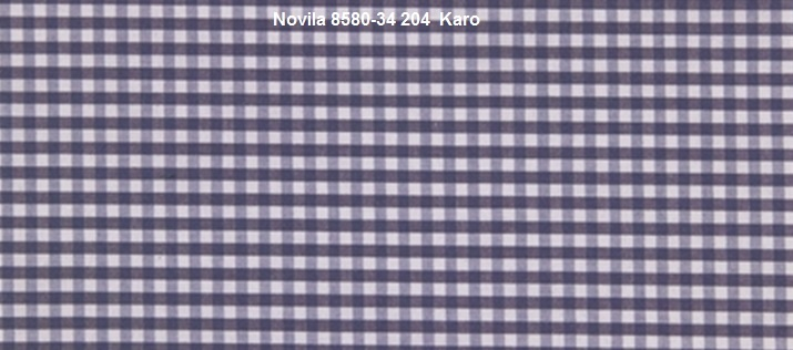 Novila Herren Nachthemd Novila Mario 8580-34-204 Karo blau