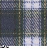 Novila Warmer Damen Schlafanzug  Helena 8040 blau-grün Gr.36-46