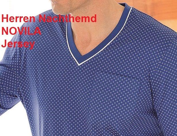 Novila Herren Nachthemd Jersey Novila Tobias 8090
