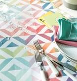 Garnier Thiebaut    GT Tischdecke abwaschbar Mille Twist pastel