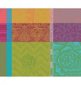 Garnier Thiebaut GT Tischsets 40x50 cm cm  Mille Gardenias bourgeons-beschichtet-abwaschbar