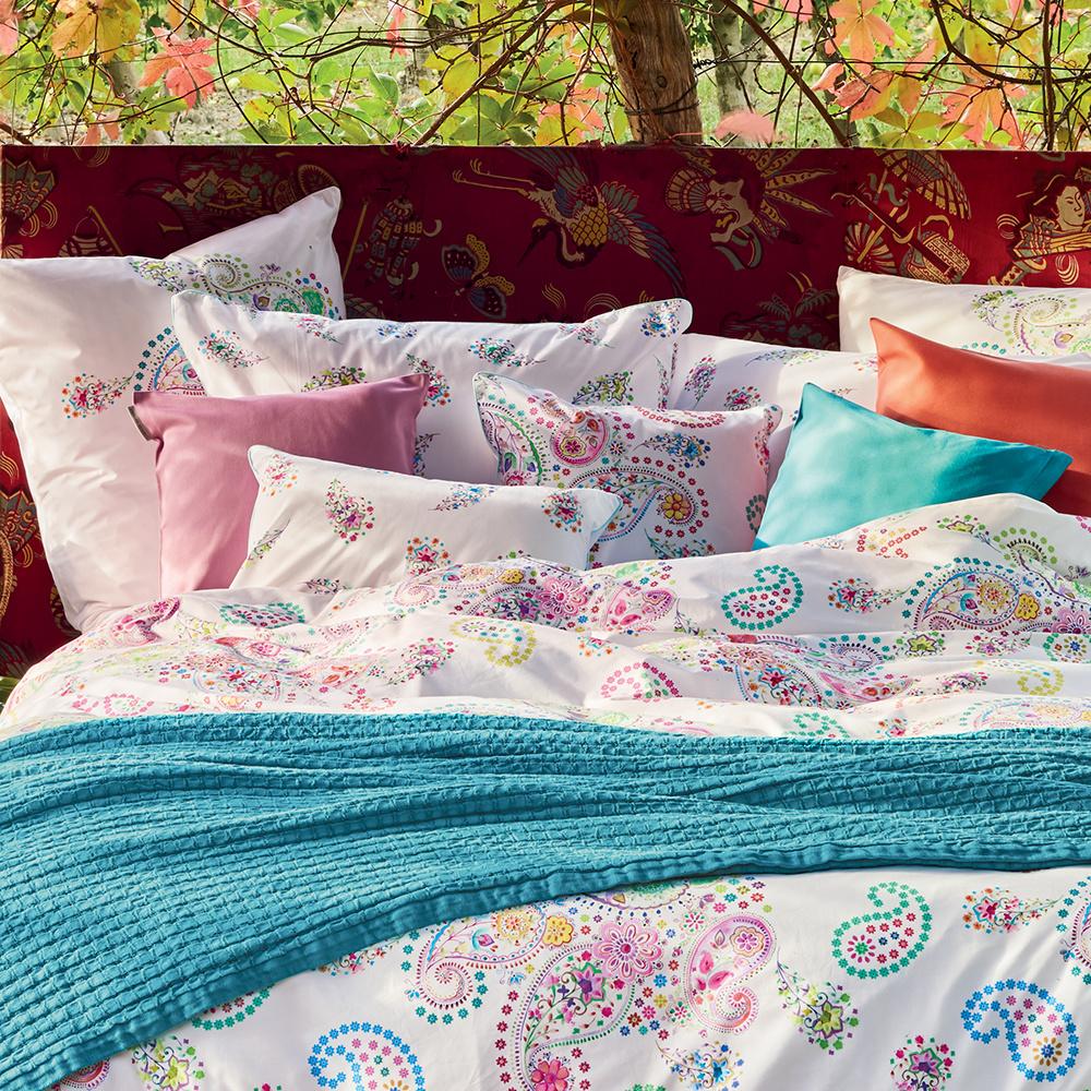 Garnier Thiebaut 30888/Velvet Bettbezug Baumwolle grau 200/x 140/cm