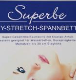 Spannbettlaken Größe     120/130 x 200/220 cm Jersey Stretch - Kirsten Balk - für Matratzen bis 30 cm Höhe, Boxspring- und Wasserbetten geeignet