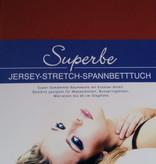 Spannbettlaken Größe      140/160 x 200/220 cm  cm Jersey Stretch - Kirsten Balk - für Matratzen bis 30 cm Höhe, Boxspring- und Wasserbetten geeignet