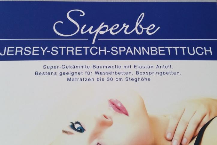 Kirsten Balk Spannbettlaken Größe        200/220  x 220/240 cm cm  cm Jersey Stretch - Kirsten Balk - für Matratzen bis 30 cm Höhe, Boxspring- und Wasserbetten geeignet