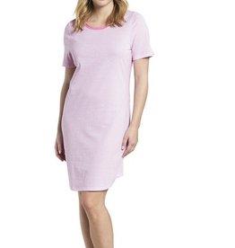 Féraud - Rösch Rösch Nachthemd, Kurzarm feiner Single Jersey  aurora-pink