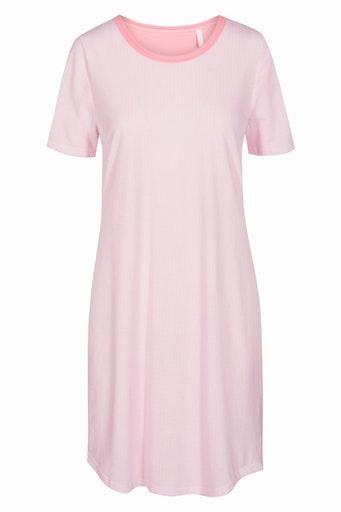 Féraud - Rösch Rösch Nachthemd, Kurzarm feiner Single Jersey -aurora-pink