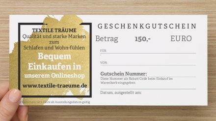 C.O. GUTSCHEINKARTE  für Ihre Liebsten