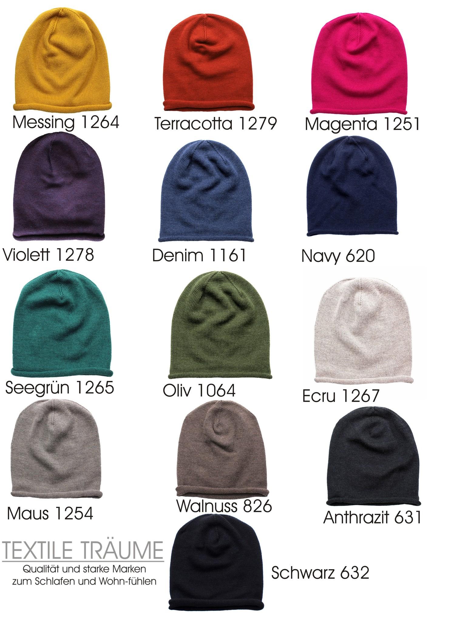 Eagle Produkts  Strickmütze Mona Beanie 13 Farben - wählen Sie Ihre Wunschfarbe