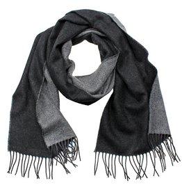 Eagle Produkts Eagle Products Schal Kaschmir 2-farbig  grau schwarz