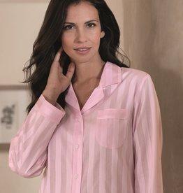 Novila Damen Schlafanzug Gr.44 Celine 1/1 rose 8367