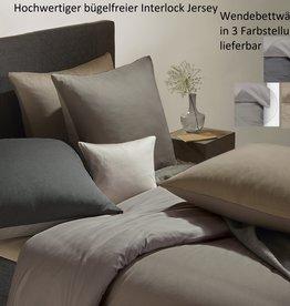 Jaquard-Interlock Jersey bügelfrei ACHAT Wendebettwäsche 3-Farben