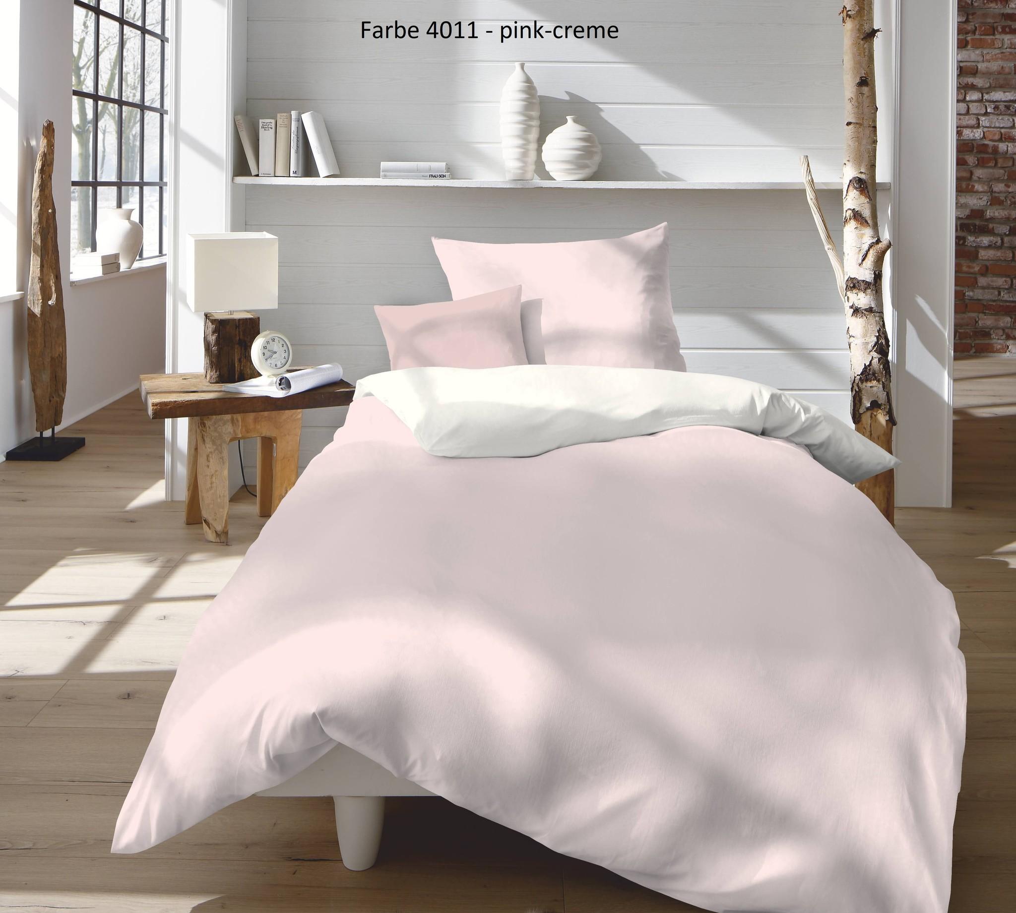 Provence W- Leinen Wendebettwäsche -3 Farbstellungen-50% Leinen 50% Baumwolle